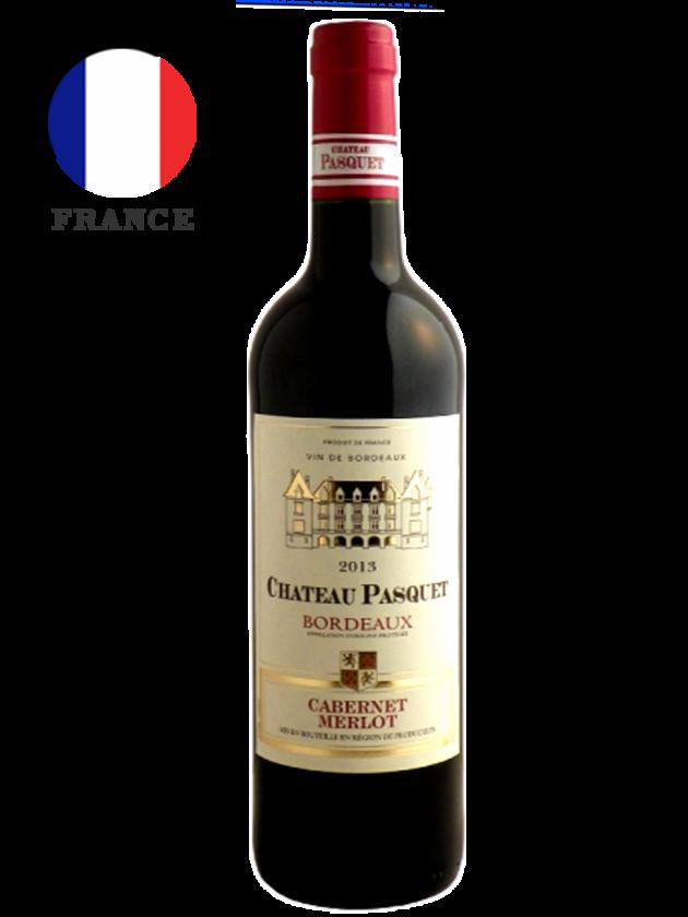 法國波爾多 帕斯葛堡紅酒 Château Pasquet Bordeaux 1