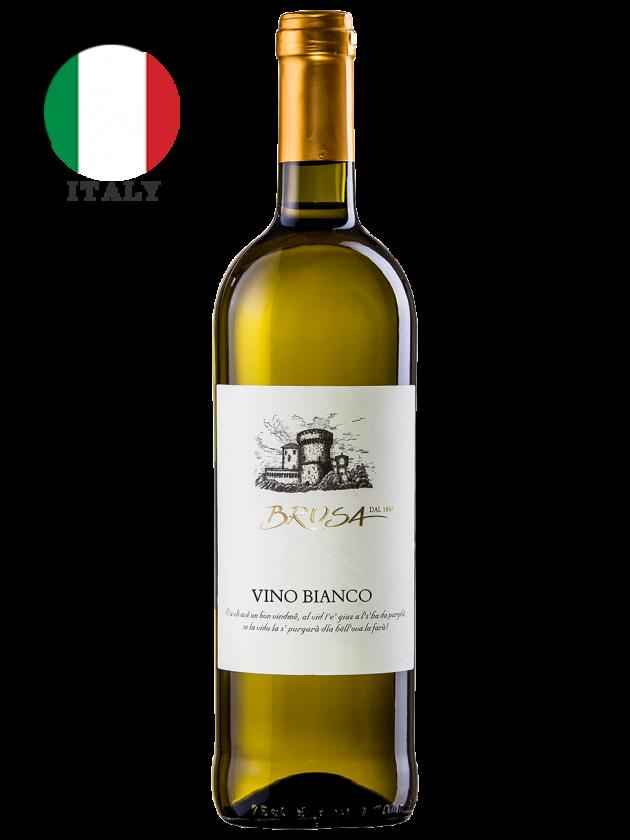 義大利 布魯莎堡經典白酒 Brusa Vino Bianco 1
