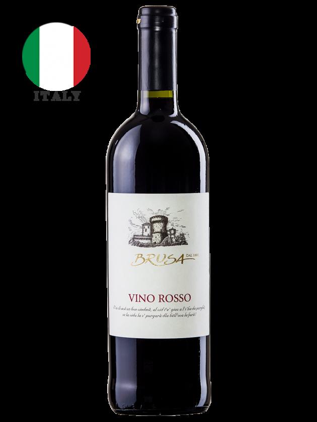義大利 布魯莎堡經典紅酒 Brusa Vino Rosso 1
