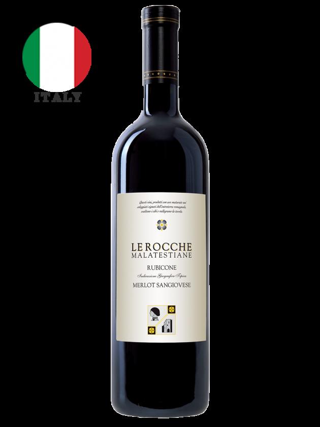 義大利 羅可瑪菈 紅酒 Le Rocche Malatestiane Merlot Sangiovese 1