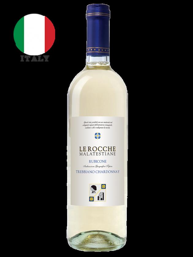 義大利 羅可瑪菈 白酒 Le Rocche Malatestiane Trebbiano Chardonnay 1