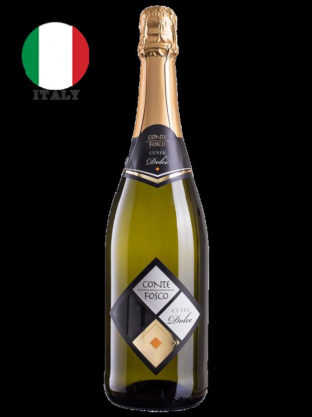 義大利 康特芙思可 甜氣泡酒 Conte Fosco Spumante Cuvée Dolce 1