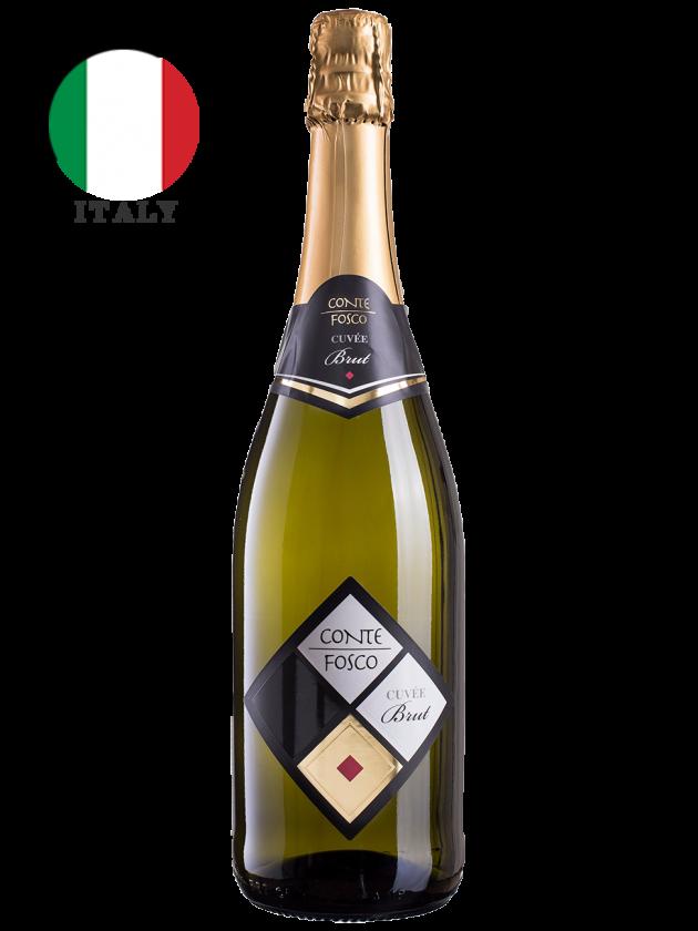 義大利 康特芙思可 氣泡酒 (不甜) Conte Fosco Spumante Cuvée Brut 1