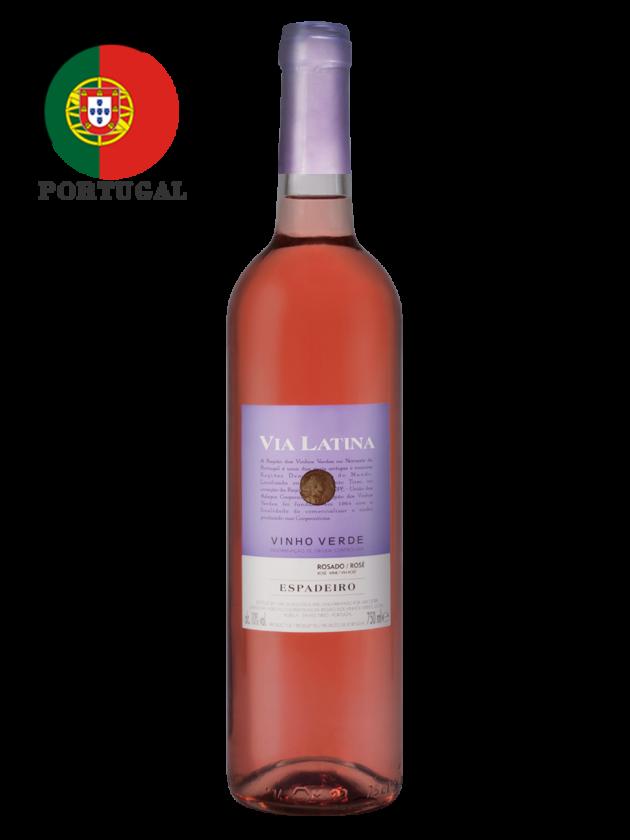 葡萄牙 薇亞菈緹 微甜粉紅酒 Via Latina Espadeiro Rosé 1