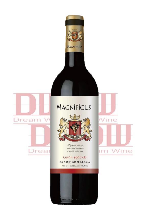 法國 歐洲雄獅 甜紅酒 Magnificus Rouge Moelleux 1